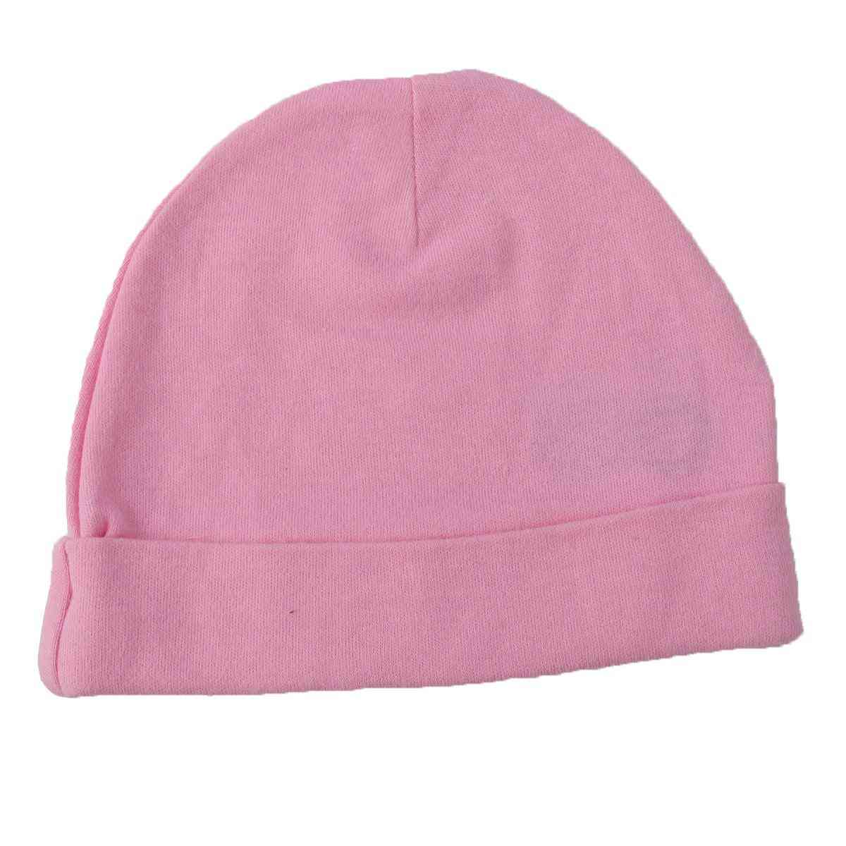 Asaan Bachpan Baby Cap for 0 - 6 Month Baby  Pink
