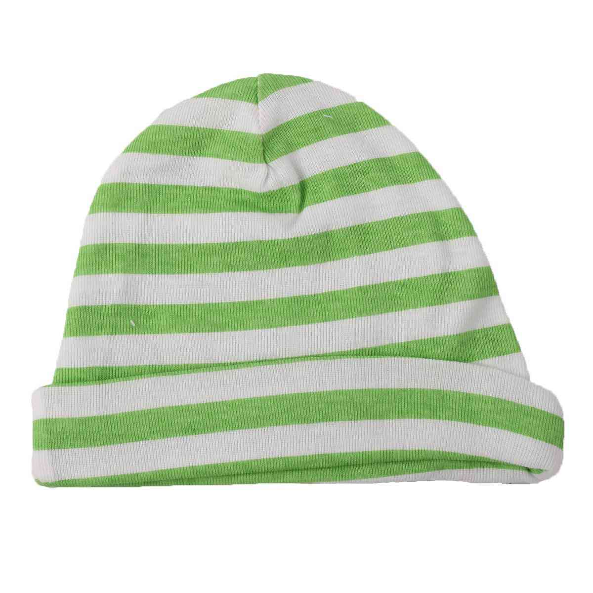 Asaan Bachpan Baby Cap for 0 - 6 Month Baby  Blue & Green