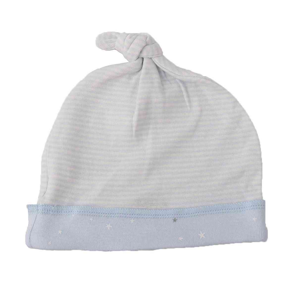 Asaan Bachpan Baby Cap for 0 - 6 Month Baby  Dark Blue