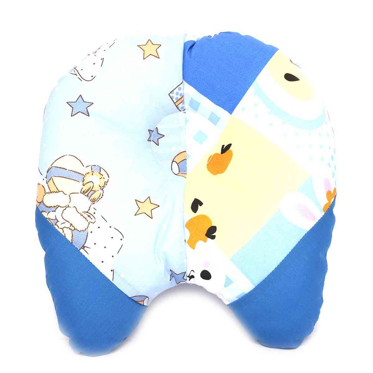 Soft and Comfortable Pillow for Newborn Babies 9x9 Inch  Blue