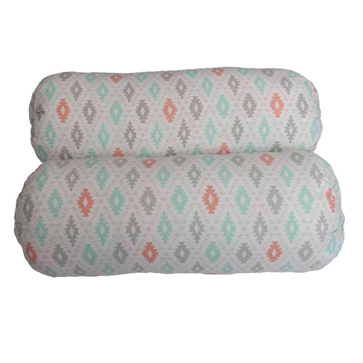 Asaan Bachpan Pack of 2 Soft Foam Pillows for Babies (12 Inch Height)  Multicolour