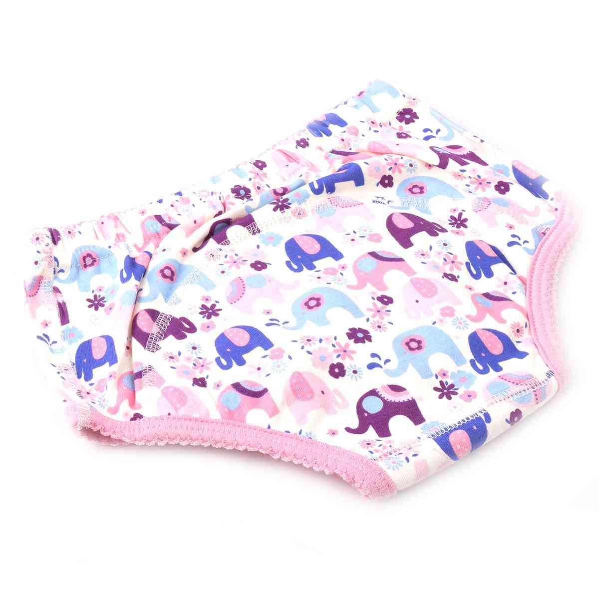 Soft Padded Underwear for 3 - 6 Year Kids  Pink