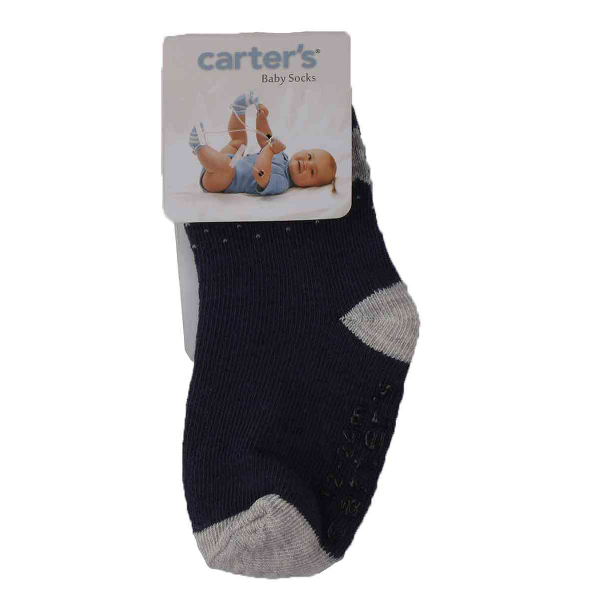 Carter's Soft Baby Socks for 0-12 Month Baby  Blue