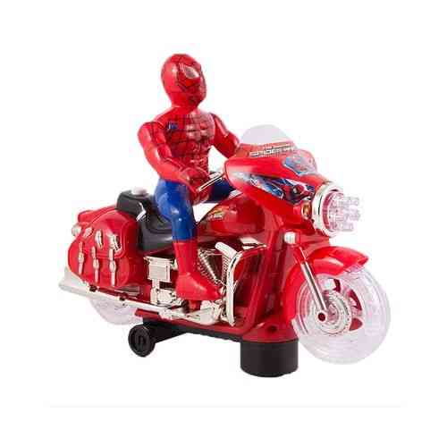 Spiderman - Sound and Rotating Lights Kids Motorcycle