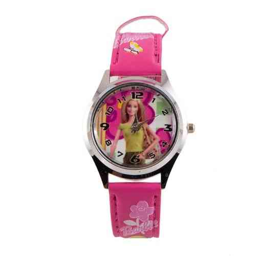 Beautiful Barbie Watch For Kids - Pink
