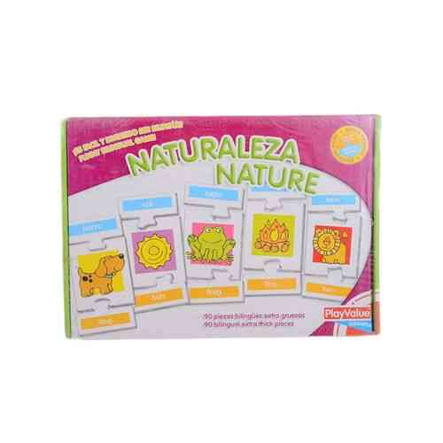 Animals Learning Puzzle Set For Kids - 90Pcs