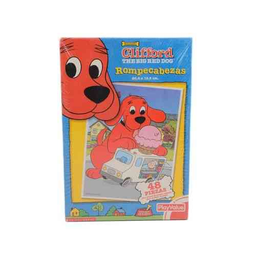 Clifford Puzzle Set - Kids Learning - 48Pcs