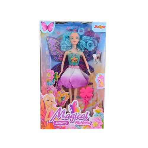 Beautifull Butterfly Princess Doll Set - 13X6 Inch - Neon