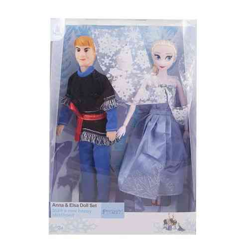 Pack of 3 - Anna and Elsa Doll Set - 13x9 Inch Box