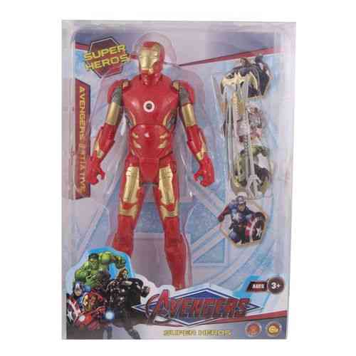 Pack of 4 - Iron Man Figure With His Swords - 13 Inch