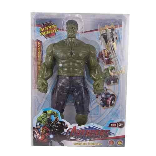 Pack of 4 - Hulk Figure With His Swords - 13 Inch