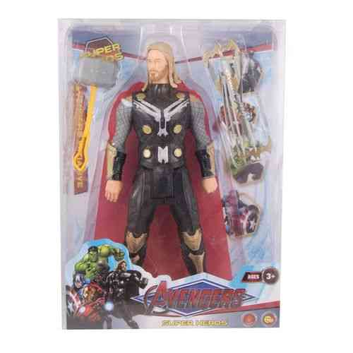 Pack of 4 - Thor Figure With His Swords - 13 Inch