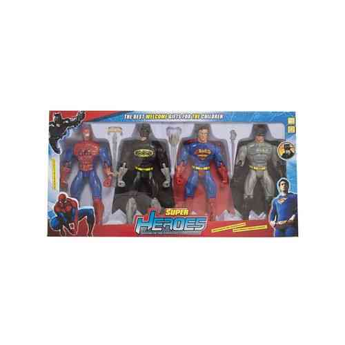 Pack of 7 - Superheroes with their swords - With Light - 27x12 Inch