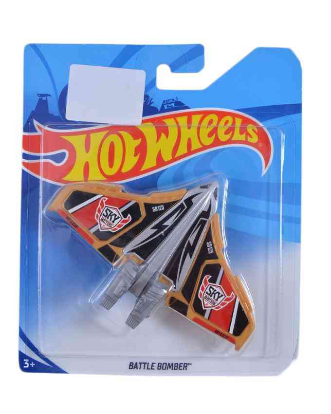 High Quality Hotwheels Battle Bomber Plane Figure Toy For Kids - 4 Inch