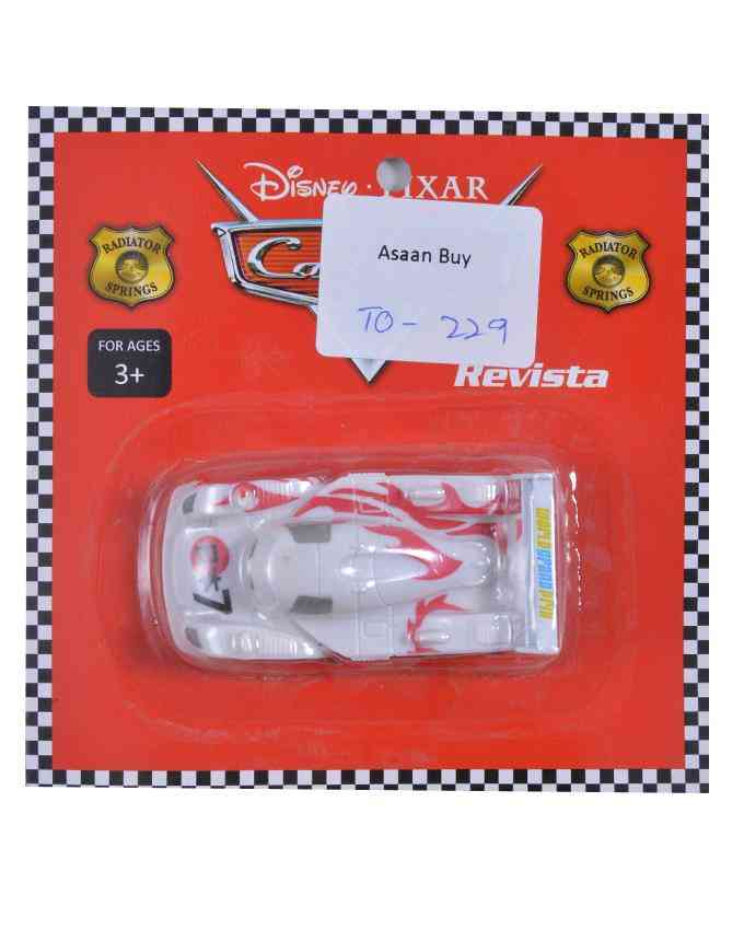 Good Quality Pull Back Car Figure Toy For Kids - 2.5 Inch - White
