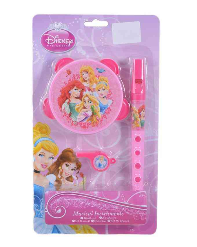 Pack of 3 Make Your Own Music Toy (whistle, flute, and Rattle) - Barbie
