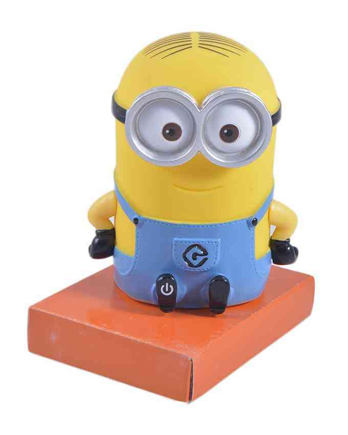 Beautiful Minnions Night Glowing (with Internal Light) Figure Toy for Kids - Requires AA Battery