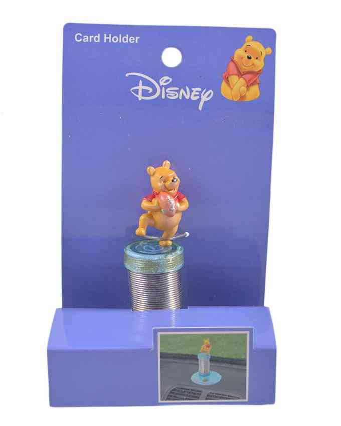 Winnie The Pooh Car Deck Spring Figure (to be placed on Car Decks as a showpiece)
