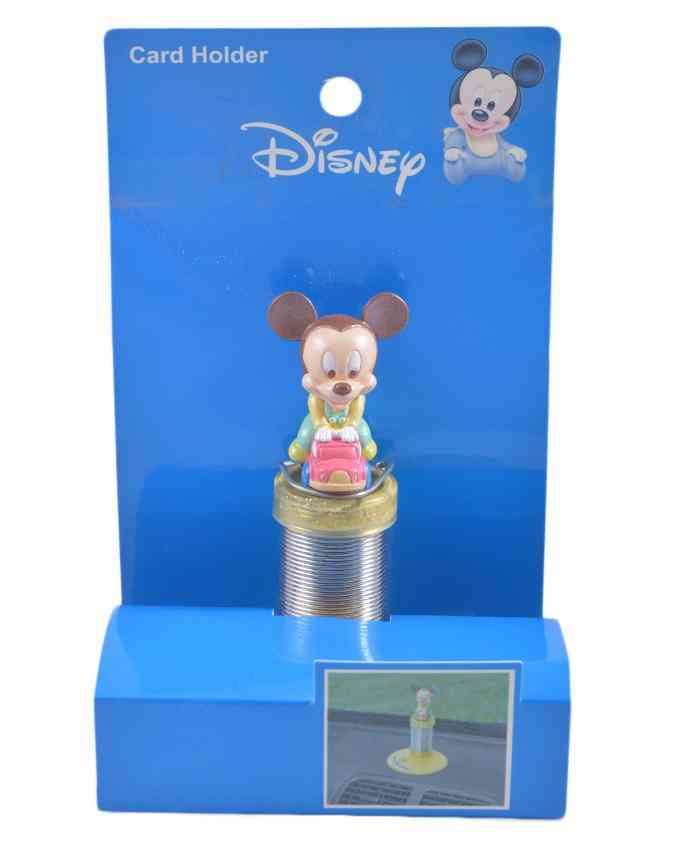 Mickey Mouse Car Deck Spring Figure (to be placed on Car Decks as a showpiece)