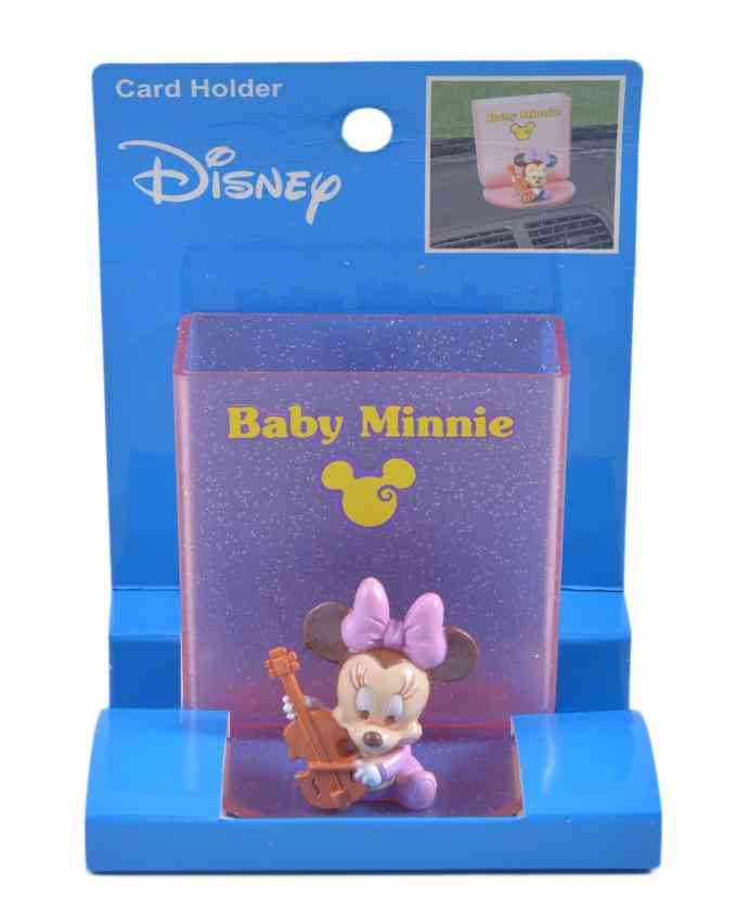 Baby Minnie Car Deck Card Holder (to be placed on Car Decks as a showpiece/ as a cardholder)