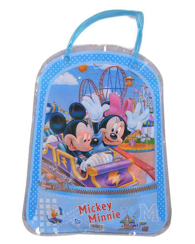 Good Quality Cartoon Character Pencil Box Gift For Kids (Box/ 2 Pencils/ 1 Notebook/ 1 Sharpener/ and 1 Scale) - Mickey Mouse - 8x12 Inch Bag