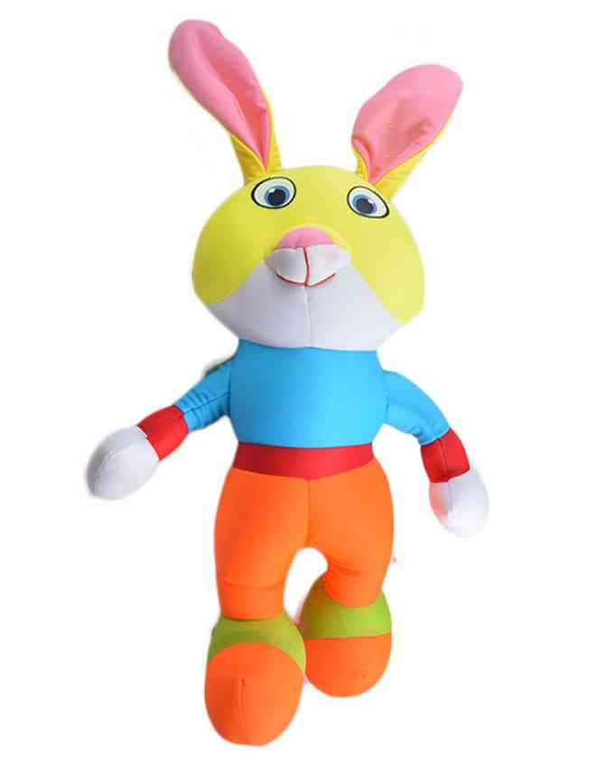 Thick and Good Quality Soft Bean Stuffed Toy For Kids - Rabbit - 18 Inch