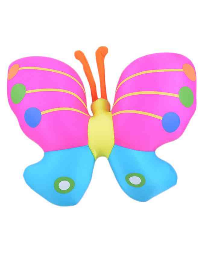 Thick and Good Quality Soft Bean Pillow For Kids - Butterfly - 11 Inch
