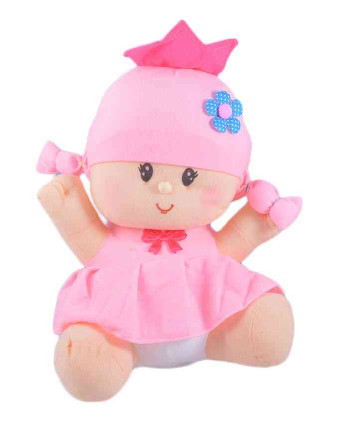 Thick and Good Quality Soft Stuffed Toy For Kids - Cute Baby - 17 Inch