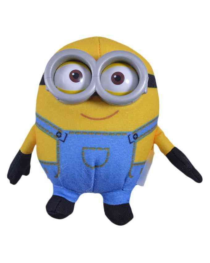 Cute 4 Inch Minnions Stuffed Toy for Kids with 3D Glasses