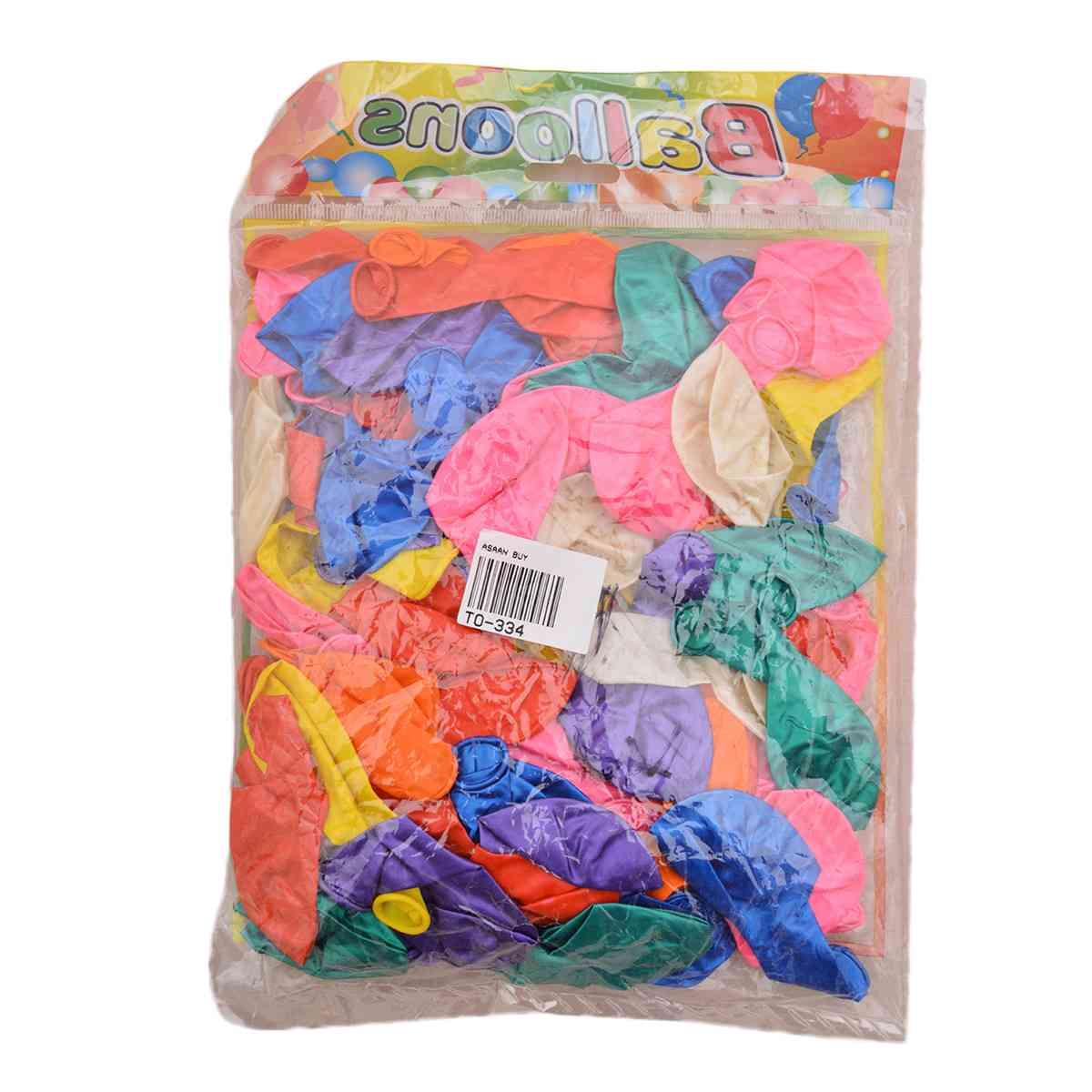 Pack of 100 Medium Size Balloons for Picnic and Parties