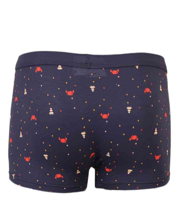 Pack of 2 Modal Fabric Spandex Boxer for Men - Dotted