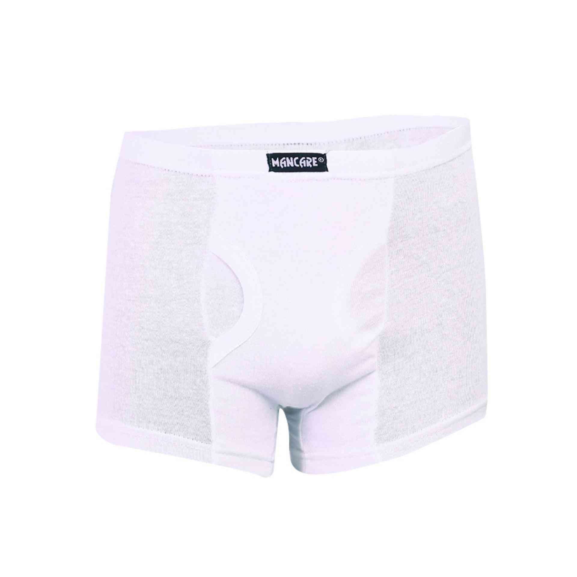 Mancare Pure Cotton Underwear for Men - White
