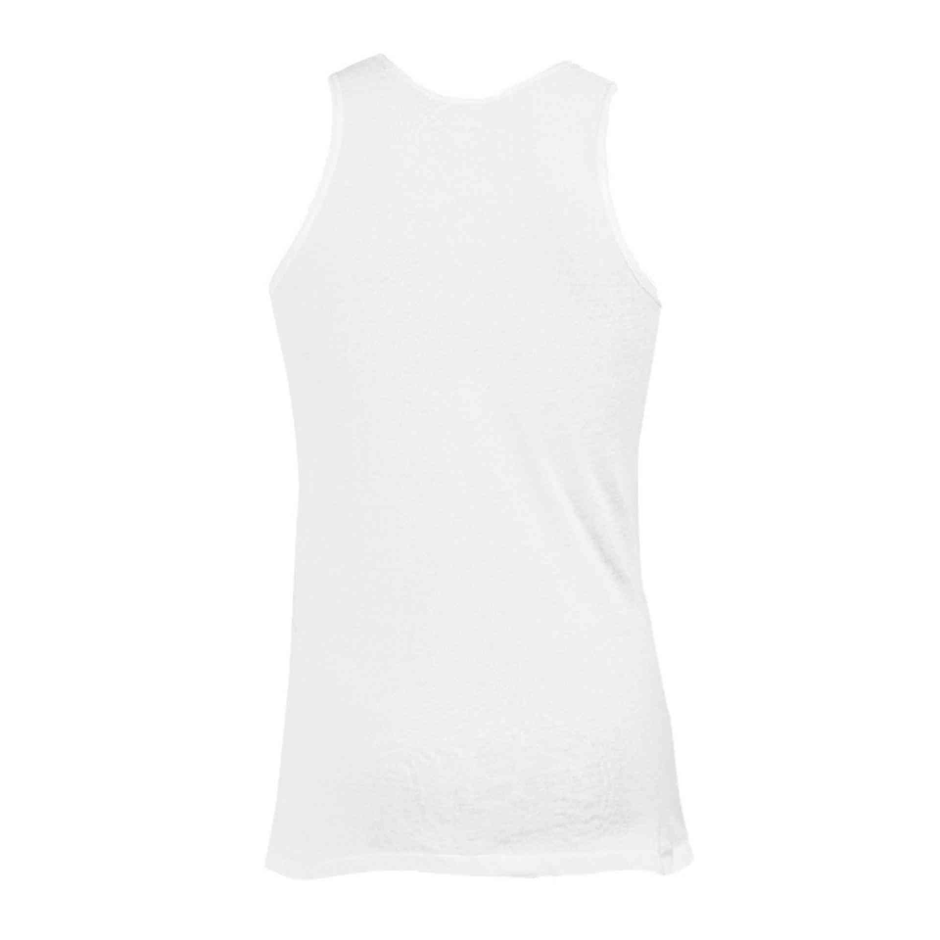 Daisy Luxury Pure Cotton Vest for Men - White