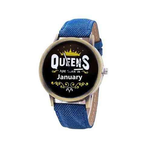 Blue Queens Are Born In Watch - January