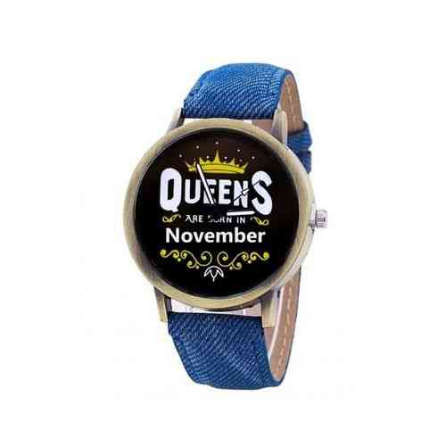 Blue Queens Are Born In Watch - November