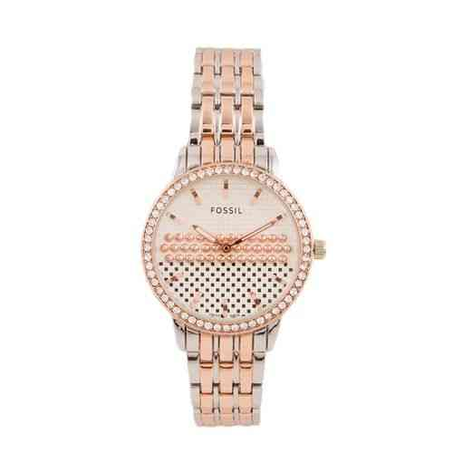 Japanese Sleek and Stylish Chain Watch for Women Silver and Gold