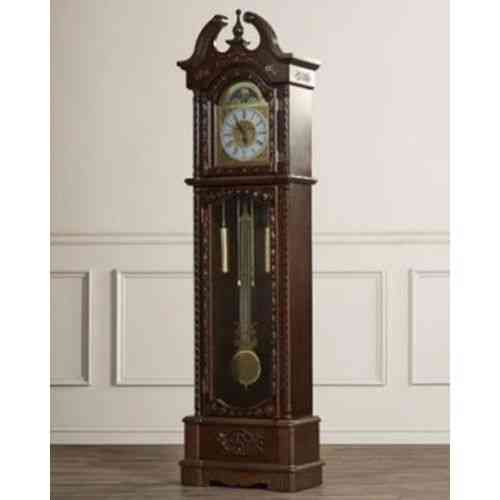 Grand Father Clock Westminster Pendulum - 13x62'' - Brown