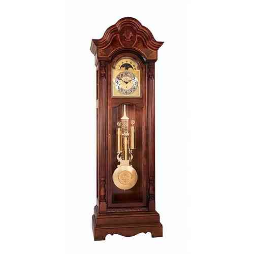 Brass Finished Pendulum Imported Grand Father Clock - 20x78''