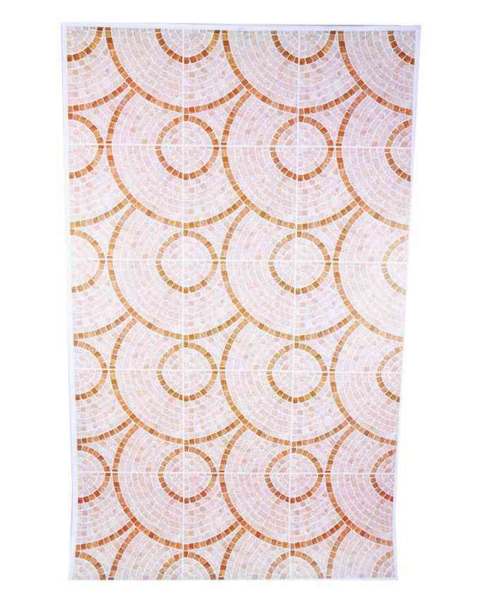 Circle Design Wallpaper Like Wall Sticker for Wall Decoration (30x18.5 Inches)